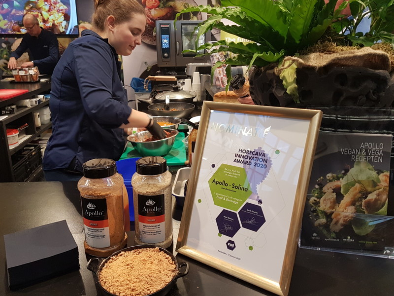 Vegan melange één van highlights op Sligro Vegan Day